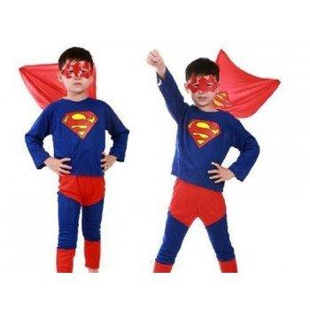Supermano kostiumas vaikams