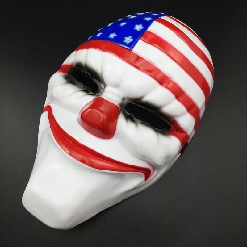 Klouno veido kaukė (Dallas, Payday)