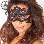Moteriška venecijos karnavalinė kaukė
