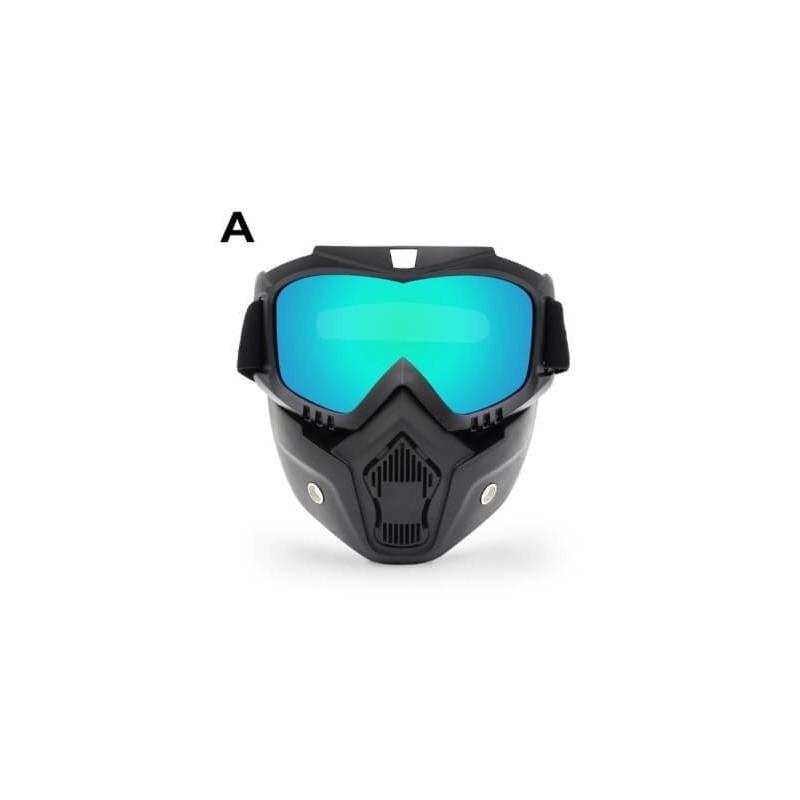 Motociklininko, slydinejimo akiniai