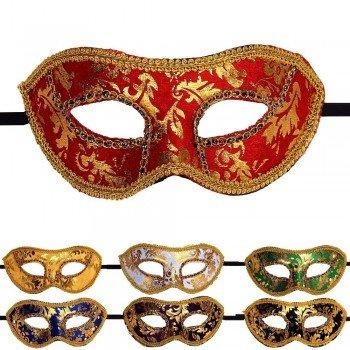 Venecijos kaukes moterims (daug spalvu)