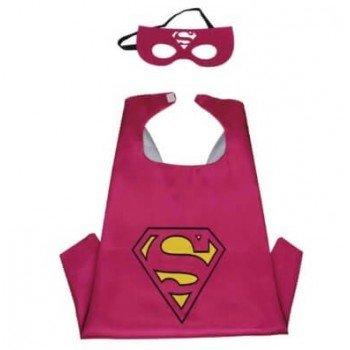 Vaikiskas superman karnavalinis kostiumas mergaitems