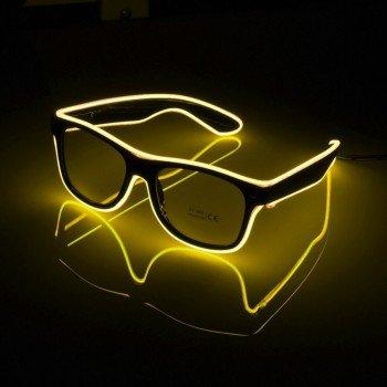 LED svieciantys akiniai