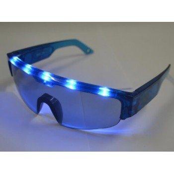 LED akiniai festivaliams, pramogoms