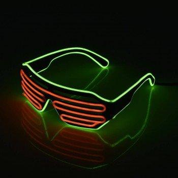 LED akiniai keliomis spalvomis