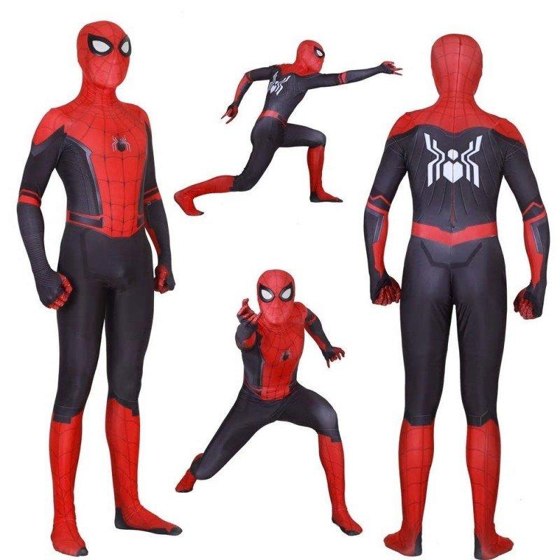 Zmogaus voro - spiderman karnavaliniai kostiumai suaugusiems