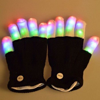 LED sviecianti pirstine