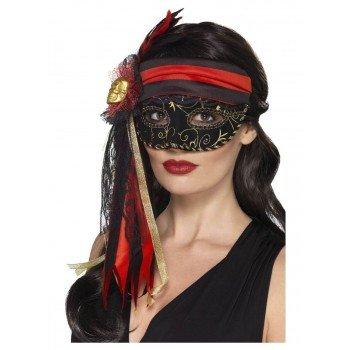 Piratės karnavalinės kaukės...