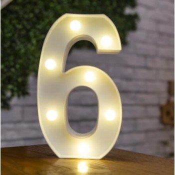 Dekoratyviniai LED skaičiai...