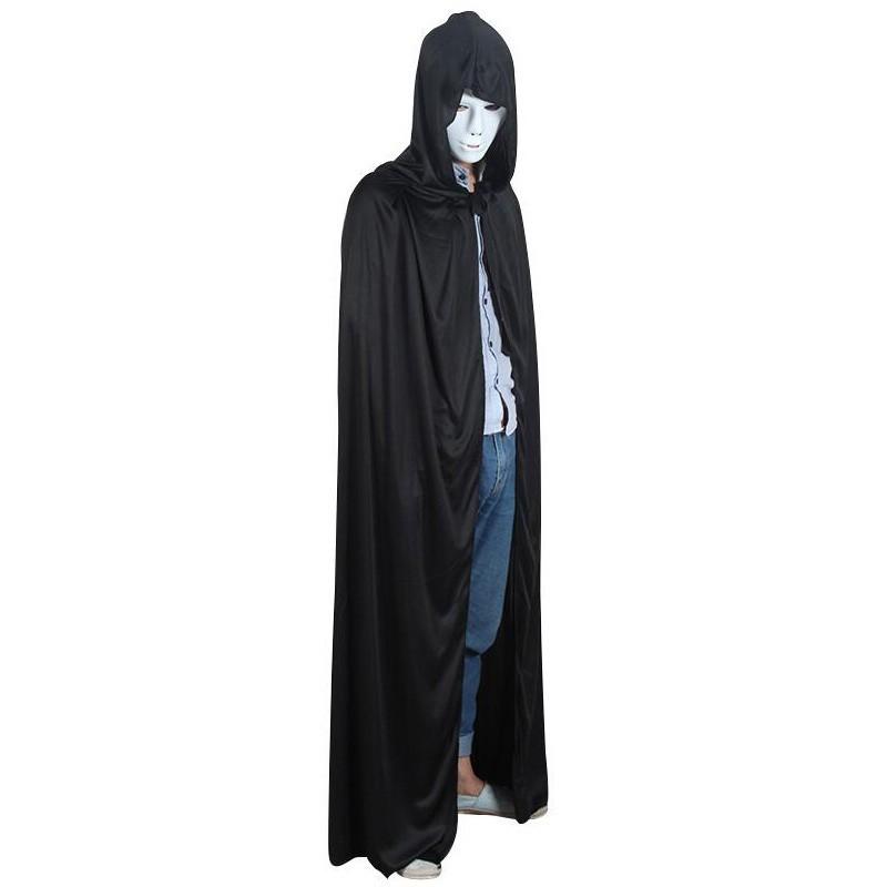 Juodas apsiaustas, kostiumas