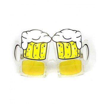 Papludimio akiniai su bokalais